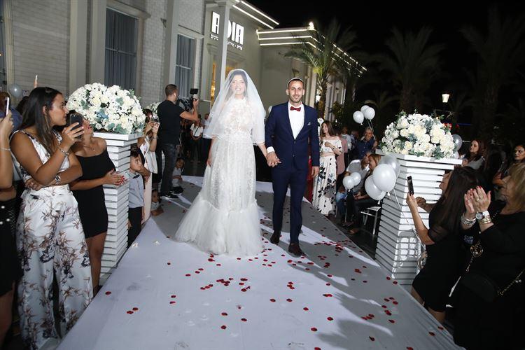 עוד רגע בעל ואישה, החתונה של שובל סבג ודניאל מרציאנו (צילום: רד קאמרה)