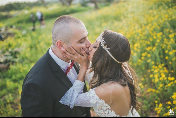היפים והנכונים, החתונה של נויה שמעון ואיגור טורצינסקי(צילום: שיצו צלמים)