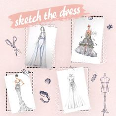 Skech The Dress: מציירים שמלת כלה