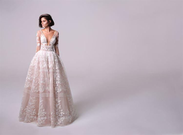 השמלה שכבשה את ליבנו ואת ליבה של המעצבת (צילום: אייל נבו)