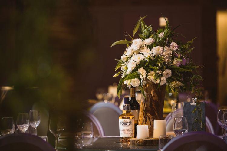 קונספט של טבע, שימוש רב בצבעי ירוק ולבן שבלטו בחתונה (צילום: ירין טורנוס)