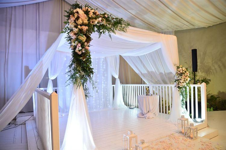 החופה המהפנטת שגרמה להם לבחור בתל-יה, החתונה של שקד איבון יפרח ודניאל שפרן (צילום: תומר בן שלמה)