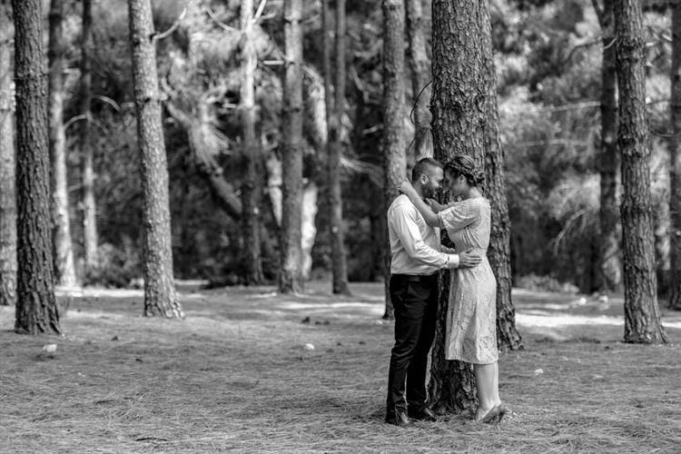 יוסרה עזאם ופאריז פארס בתמונות טרום חתונה מרגשות (צילום: חמד אלמק'ת, הודא שכידם קיואן)