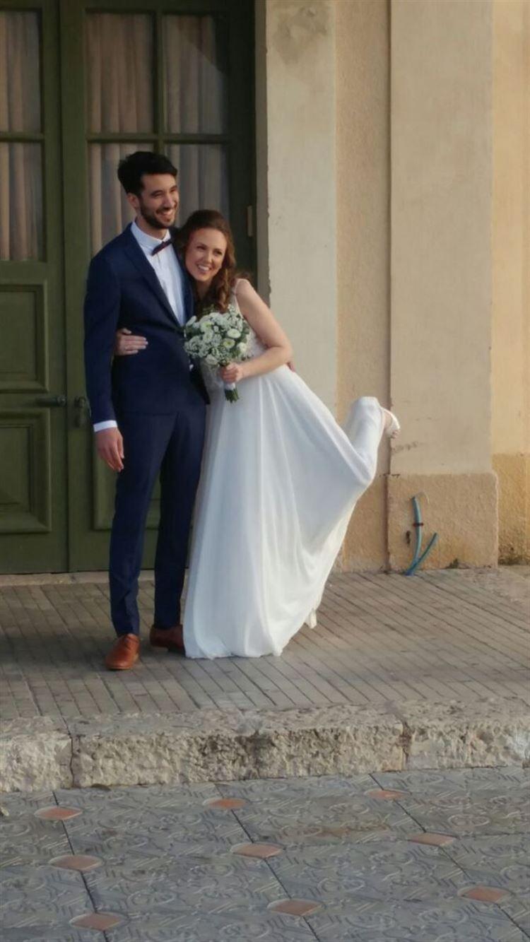 למרות הכל אנה ליטבק ורן כהן הספיקו לערוך צילומי טרום חתונה מתוקים במיוחד (צילום: דודי אלימלך)
