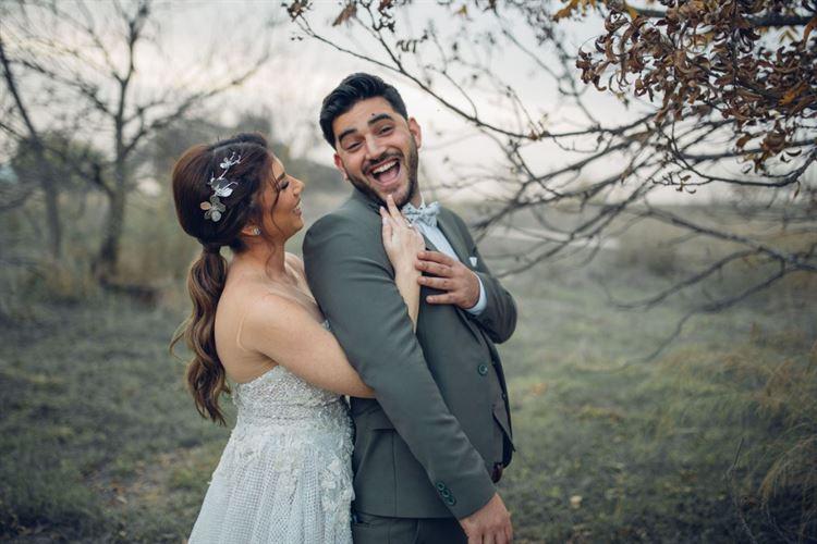 צילומי טרום חתונה מחויכים במיוחד, החתונה של איטל שירמן וקובי בוקרה (צילום: דוקו צלמים)