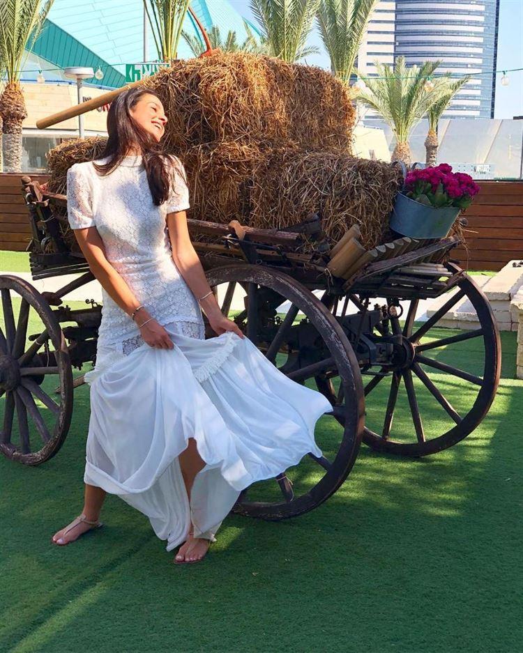 עוד לפני החתונה, שבת החתן של שני אטיאס שהתקיימה בגארדן הוטל שבחיפה (צילום מסך אינסטגרם: shaniatias.1)