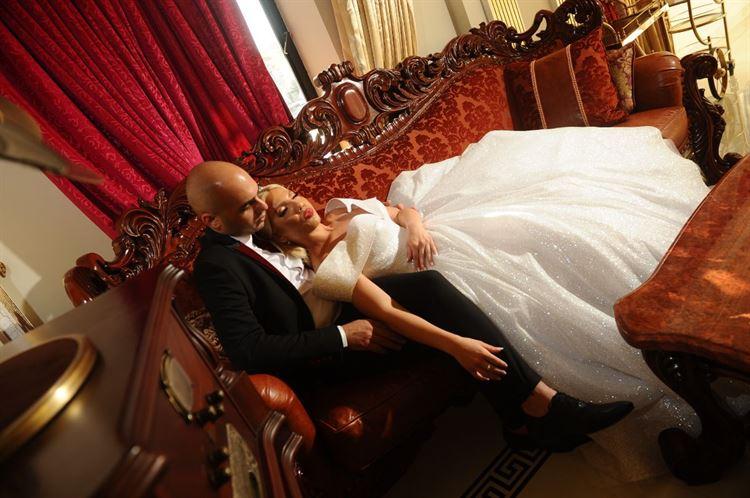 היפיפיה הנרדמת גרסת החתונות, החתונה של שרית מונרו שלום וגיא דהן (צילום: ג'ירף)