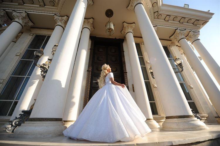 מי אמר שבישראל אין נסיכות? החתונה של שרית מונרו שלום וגיא דהן (צילום: ג'ירף)