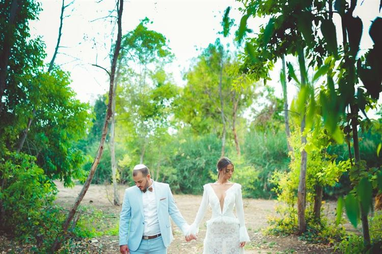 ישראל פרץ הצליח להפתיע את צליל מתוק ולהציע לה נישואים ברגע שהיא ממש לא ציפתה לו (צילום: חיים אביב)