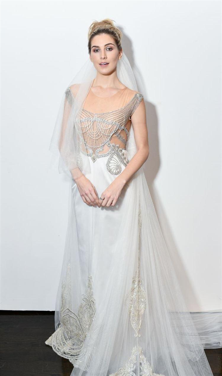 גיבורה בדרך לחופה, שמלת כלה בעיצוב המותג Chantal Haute Couture (צילום: יחצ)